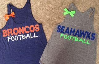 diy shirts football