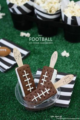 football ice creams